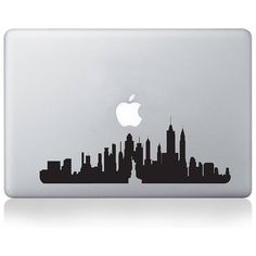 Vinyl Revolution New York City Skyline Vinyl Decal ($21) ❤ liked on Polyvore featuring accessories