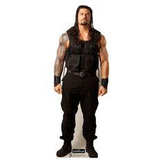ROMAN REIGNS WWE Wrestler Lifesize CARDBOARD CUTOUT Standup Standee Poster F/S - http://bestsellerlist.co.uk/roman-reigns-wwe-wrestler-lifesize-cardboard-cutout-standup-standee-poster-fs/