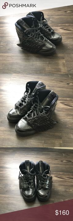 competitive price ac16c c3fbe Adidas x Jeremy Scott Wing Sneakers Adidas x Jeremy Scott Wing Molded  Sneakers. Shoes are