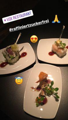 Fingerfood raffiniert zuckerfrei ab sofort im Vox Restaurant im Grand Hyatt Berlin