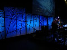 Brad Martin - Lighting and Stage Design: Paper shapes