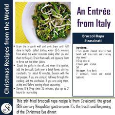A Healthy Italian Entrée for Christmas Dinner or Lunch!