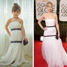 Angie, a professional photographer and avid Instagram user with a four-year-old nicknamed Mayhem, discovered her daughter would much rather create dresses than play in store-bought ones. | This 4-Year-Old And Her Mom Make Incredible Paper Versions Of Famous Dresses