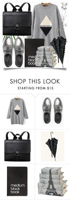 """grey"" by melli-ssa ❤ liked on Polyvore featuring WithChic, Max&Co., Monki, Dinks, look, beautiful, casualoutfit and grey"
