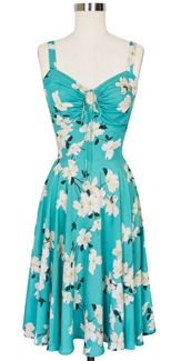 """Trashy Diva L'Amour Dress in Dogwood Print - It's a sad day when you've been patiently waiting for Trashy Diva's insanely gorgeous new line of  dresses to go on sale...then discover they're still in """"preorder"""" phase"""