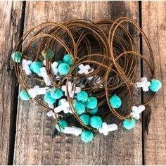 Turquoise Necklace, Wreaths, Jewelry, Weddings, Knot Bracelets, Jewlery, Door Wreaths, Jewerly, Schmuck