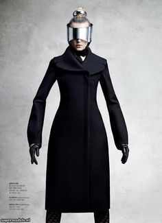 Model: Sigrid Agren | Photographer: Victor Demarchelier - 'The Cosmic Puppets'