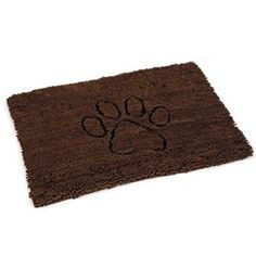 Dirty Dog Doormat 88cm Brown Doormat, Brown, Dogs, Decor, Decoration, Decorating, Pet Dogs, Doggies, Dekorasyon