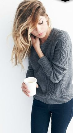 Ombre & Fall Sweater