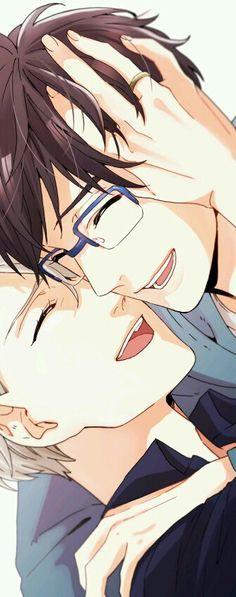Read Victuuri from the story Yaoi/Anime pics by sushiandtea (APH_Cecilia) with reads. Anime: Yuri On IceShip: Victor x Yuuri Manga Anime, Me Anime, Anime Kawaii, Anime Love, Anime Guys, Otaku Anime, Anime Stuff, Katsuki Yuri, Yuuri Katsuki