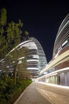 Image result for zaha hadid lighting facade