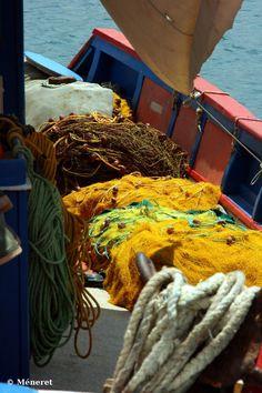 Fishing Nets, Siteia, Crete, Greece