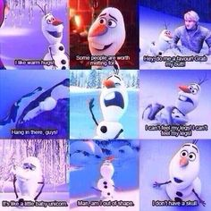 "Olaf- We could also say: ""Let's go kiss Hans!"" and when Kristoff told him to stay out of sight he went and said ""hi! I love Olaf Disney Pixar, Walt Disney, Disney And Dreamworks, Disney Love, Disney Magic, Disney Frozen, Disney Characters, Disney Stuff, Disney Nerd"