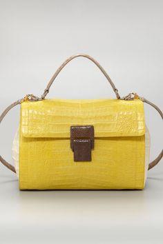 Stringray-Buckle Lady Bag