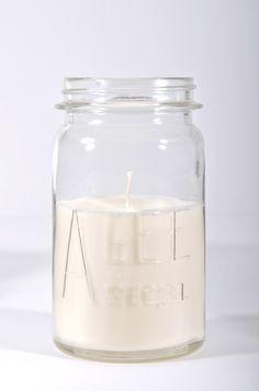 LET LIV Vintage Agee Jar Soy Candle - Large