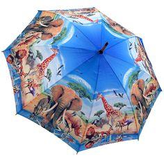 African Safari Full Length Umbrella / Umbrella Heaven