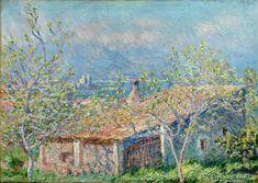 Gardener's House at Antibes 1888 Claude Monet