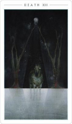 Death XIII | The Fountain Tarot https://www.kickstarter.com/projects/756996328/the-fountain-tarot-a-contemporary-standard