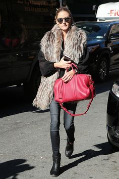 Olivia Palermo's Five-Second Style Tip Will Make You More Fashionable via @WhoWhatWear