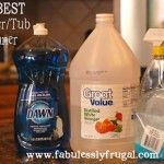 Live on less with these homemade household cleaner recipes!