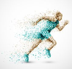 Buy Running Man by Elymas on GraphicRiver. Running man from circles. Illustration contains transparency and blending effects, eps Clip Art, Designers Gráficos, Image Film, Man Vector, Running Man, Running Club, Royalty Free Photos, Graphic Design, Abstract