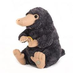 Adapted from the first Fantastic Beasts & Where to Find Them film, this Niffler plush includes a plush coin, a soft pile coat, shiny button eyes and a pouch for storing valuables. Approx 7.87 Inches tall (20 cm).