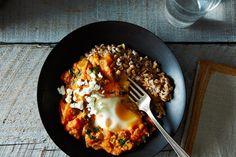 Shakshuka with Grains and Feta, a recipe on Food52