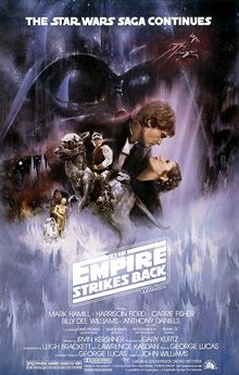 Its dark, gritty, and flippin' awesome. I have watched THE EMPIRE STRIKES BACK more times than I can count. It is one of my most-watched films over the course of my life.