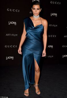 Kim Kardashian picked an ill-fitting dress for theLACMA Art + Film Gala http://dailym.ai/1GbrW95