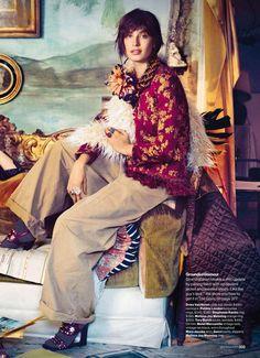"""Artist in Residence"" by Will Davidson for Glamour US September 2015"