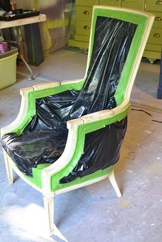 Upholstery-Free Chair Makeover