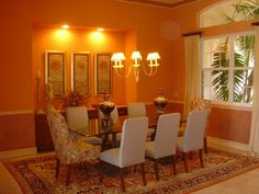 Image detail for -Formal dining room wit built-in buffet