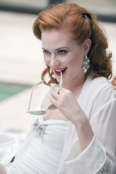 Evan Rachel Wood, especially as the vampire queen in True Blood Rachel Evan Wood, Beautiful Red Hair, Beautiful Redhead, Beautiful People, Hello Gorgeous, Gorgeous Women, True Blood Season 4, Take Her Clothes Off, Work Clothes