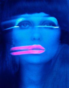 Lip Streaks / #Melvin_Sokolsky / 1967