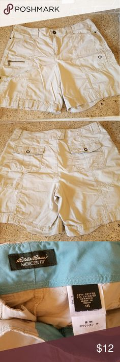 Eddie Bauer cargo shorts A must have for the summer wardrobe. Worn once and in excellent condition. Eddie Bauer Shorts Cargos