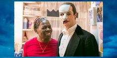 "ThePhantomOfTheOpera ‏@PhantomBway 4 Nov 2014 - ""All of our Phantoms have had makeup applied by Thelma Pollard. She has been with the production since 1988."""
