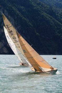 Boat racing.