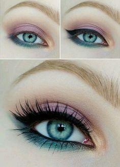 awesome Элегантный макияж для зеленых глаз — Пошаговое фото вечерних и дневных вариантов