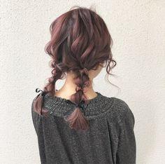 お呼ばれに♡結婚式で華やか見せできるヘアアレンジ【レングス別】|【HAIR】 Hair Inspo, Hair Inspiration, Korean Hair Color, Ulzzang Hair, Birthday Hair, Hair Arrange, Hair Reference, Hair Shows, Aesthetic Hair