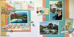 LEM Photography and Papercrafting: Hello Paradise - CSI Challenge