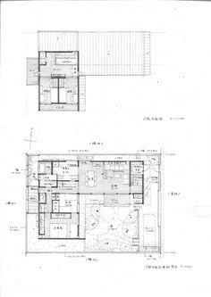 長岡天神の家|横内敏人建築設計事務所 Airport Design, Floor Plan Layout, House Stairs, Japanese House, House Plans, Modern Design, Floor Plans, Flooring, How To Plan