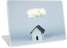 Laptop Skin A cloud over the house by josemanuelerre