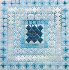Color Delights - Aquamarine - Needlepoint Pattern