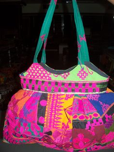 Hand made bag from india