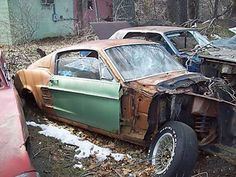 1967 Mustang Fastback This is depressing to see ...my husband would completely restore this old treasure