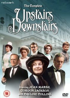 Upstairs Downstairs LWT costume drama which starred Pauline Collins, Jean Marsh and Gordon Jackson. Used to be allowed to stay up later on a Sunday night to watch this :) Jean Marsh, Pauline Collins, Drama, Bellamy, Vintage Television, Old Shows, Vintage Tv, Vintage Fashion, Movies