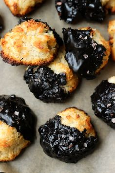 Dark-Chocolate-Coconut-Macaroons