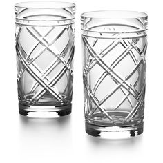 Ralph Lauren Home Brogan Classic - Highball Set of 2 (310 BRL) ❤ liked on Polyvore featuring home, kitchen & dining, drinkware, clear, ralph lauren home and everyday drinkware