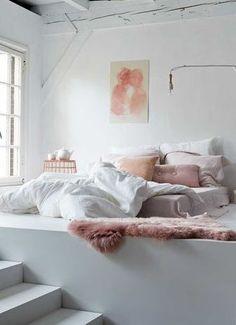 Bett erhöhen und damit stauraum schaffen