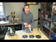 Learn How to Use a Circular Saw - Matt and Shari